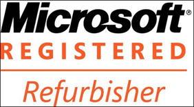 Microsoft 再生中古 PC プログラム